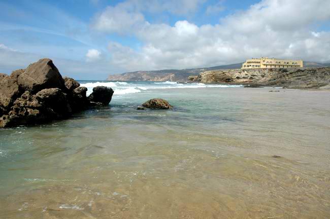 beaches in cascais  Praia da crismina